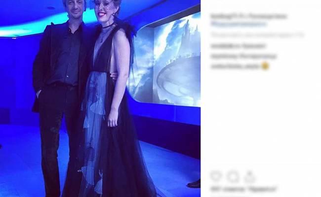 Собчак прокомментировала фото с избившим Богомолова Виторганом