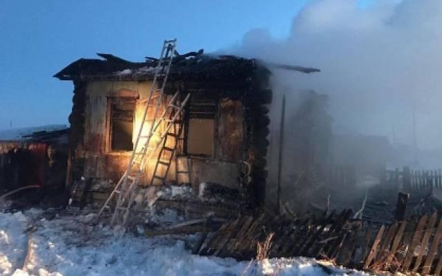 В Курганской области трое детей погибли в пожаре