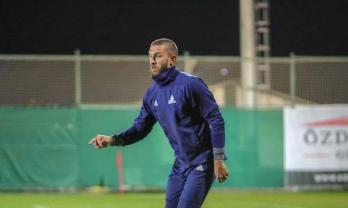 «Астана» дозаявила форварда сборной Казахстана