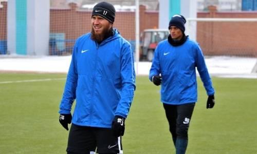 «Иртыш» продолжает подготовку к матчу с «Атырау»