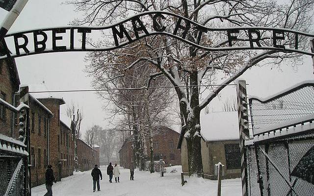 Американский турист задержан за кражу из мемориального музея в Освенциме