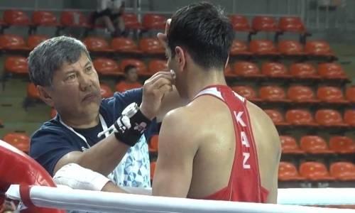 Двукратный чемпион Казахстана проиграл узбеку и остался без медали ЧА-2019