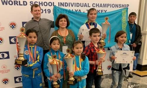 Школьники Казахстана завоевали восемь медалей на чемпионате мира