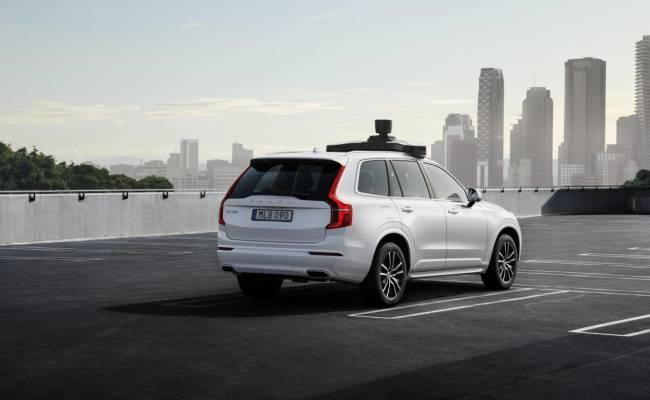 Volvo и Uber представили беспилотный XC90