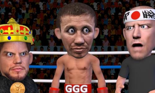 Вышел мультфильм обое Головкина сРоллсом сучастием легенды UFC