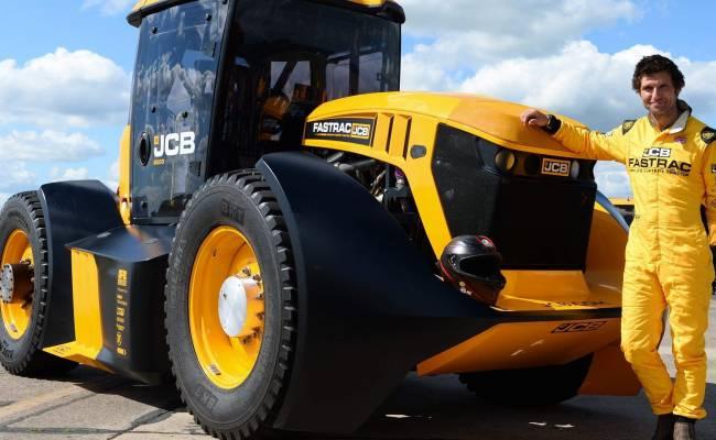 Британец установил рекорд скорости на тракторе (ВИДЕО)