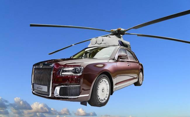 Глава Ростеха подтвердил, что готовится Aurus-вертолет