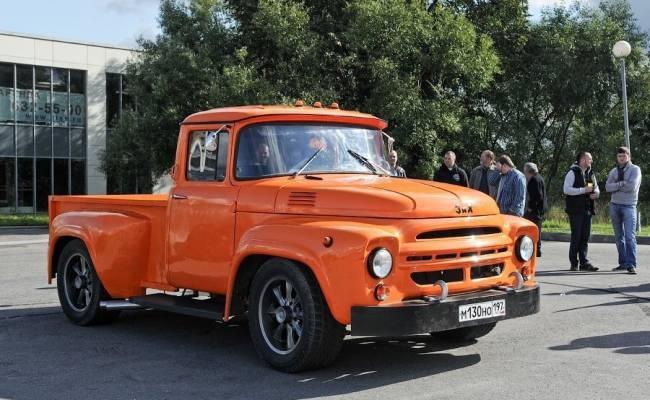 В Чечне ЗИЛ-130 превратили в стильный хот-род с V8 от Мерседеса