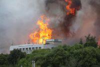 Пожар возле ТЭЦ в Мытищах полностью ликвидирован