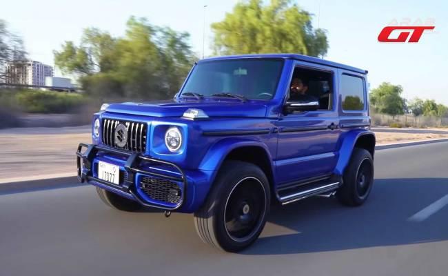 Как превратить Suzuki Jimny в реплику Mercedes-AMG G63? Мастер-класс от арабских тюнеров (ВИДЕО)