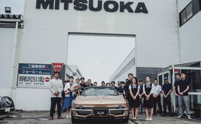 Mitsuoka приступила к производству «Корветтов» на базе Мазды