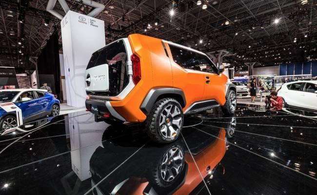 Появились первые подробности о серийной версии кроссовера Toyota FT-4X
