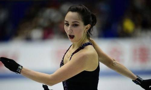 Старается не отставать. Главная соперница Турсынбаевой из России разучивает четверной прыжок