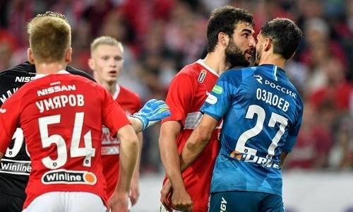 Черчесов уладил конфликт внутри сборной России перед матчем сКазахстаном