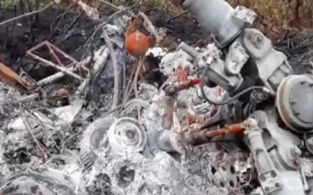 Появилось видео с места крушения вертолёта Ми-2, пропавшего на Таймыре