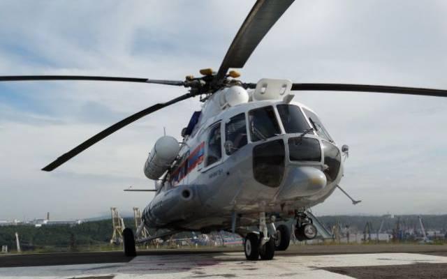 Поиски пропавшего в Якутии вертолета отложены до утра