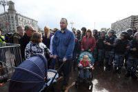 В Москве дизайнера оштрафовали за нарушения на несанкционированной акции