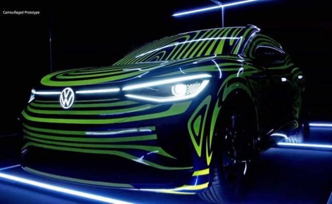 Volkswagen подтвердил дату премьеры купеообразного электрического кроссовера