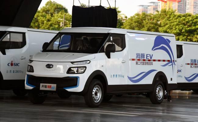 Chery выпустила крутой электрический фургон за 1,2 млн рублей