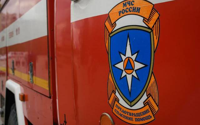 В Ленинградской области произошел пожар на нефтеперерабатывающем заводе