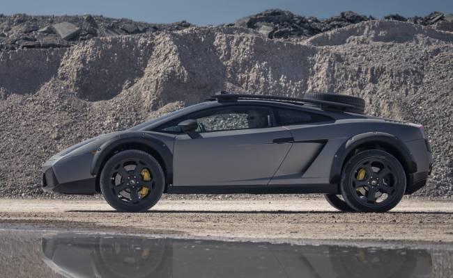 Внедорожную версию Lamborghini Gallardo выставили на продажу