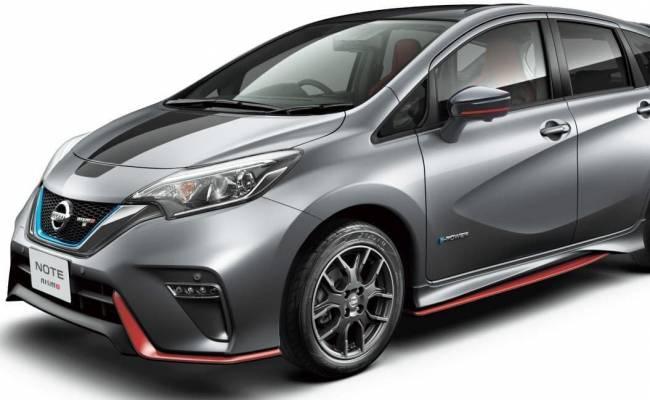 Nissan Note получил спецверсию Black Limited