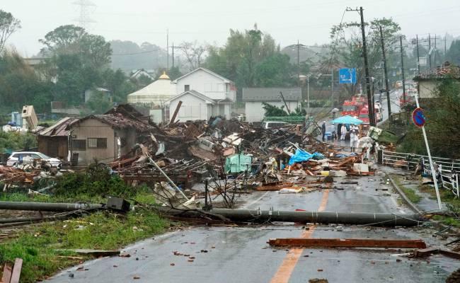 ВИДЕО: тайфун «Хагибис» обрушился на Японию