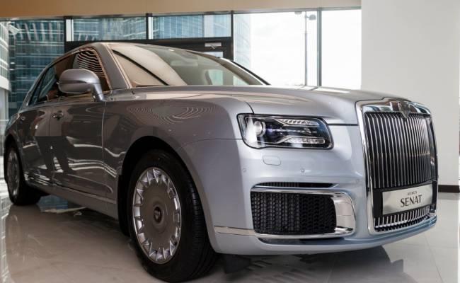 Минпромторг: заказы на Aurus исполнят к 2021 году