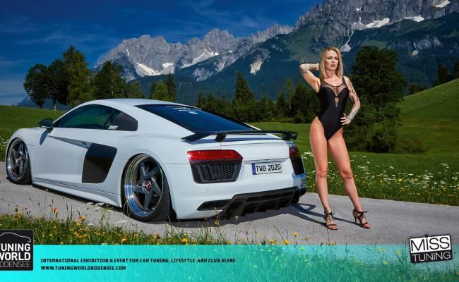 Вышел календарь «Мисс тюнинг-2020»: шикарная блондинка и крутые тачки. Голосуем!