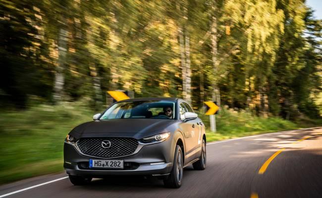 Первый электрокар Mazda сможет похвастаться необычными повадками