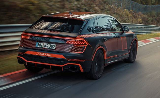 Audi RS Q8 побила рекорд Нюрбургринга для кроссоверов
