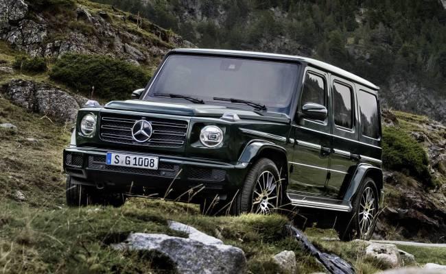 Mercedes-Benz выпустит электрический Гелендваген