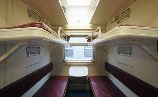 Появилось фото интерьера поездов в Крым