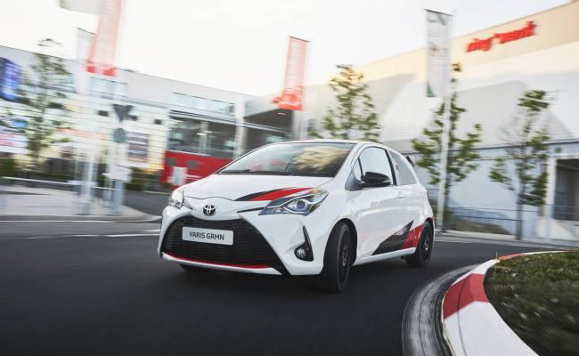Toyota Yaris обзаведется мощной версией GR-4
