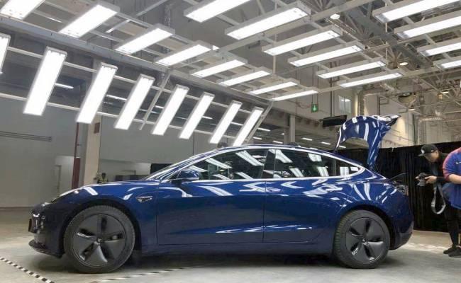 Выпущенная в Китае Tesla Model 3 оказалась качественнее американской