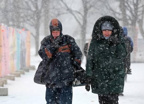 В Россию идут аномальные холода