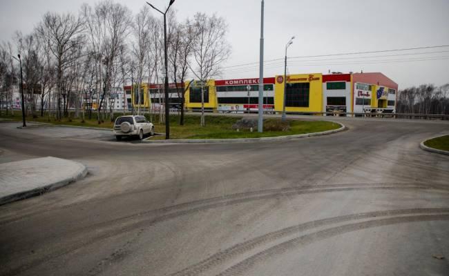 В Южно-Сахалинске появилась первая дорога, построенная на частные деньги
