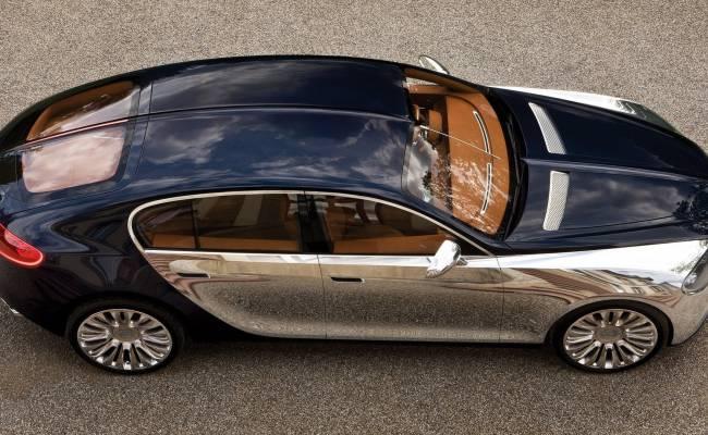 Bugatti хочет выпустить 4-местный электромобиль