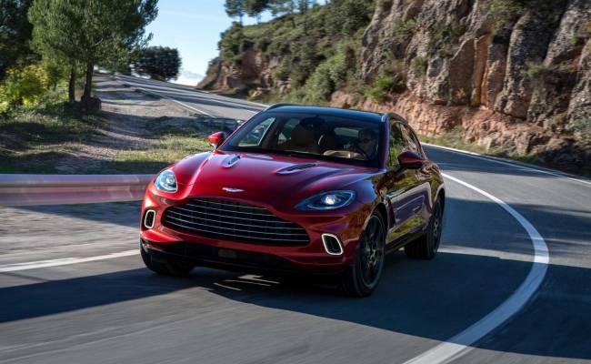 Aston Martin представил свой первый кроссовер