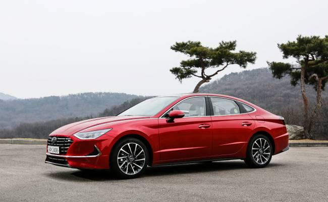 В России начались продажи новой Hyundai Sonata