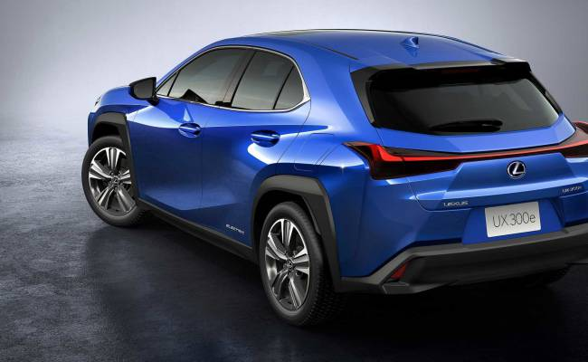 Lexus представил свой первый электромобиль