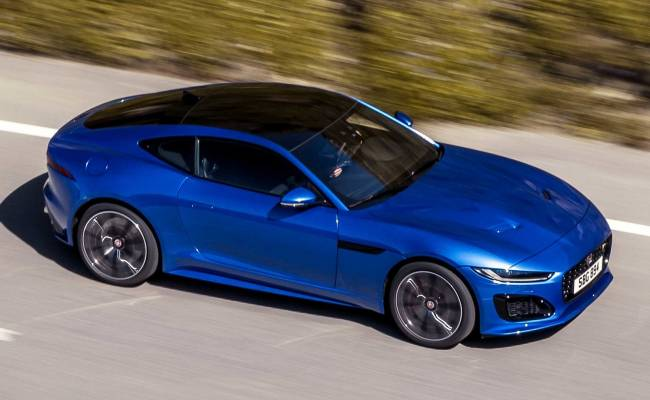 Jaguar F-Type получил новую внешность и измененный V8