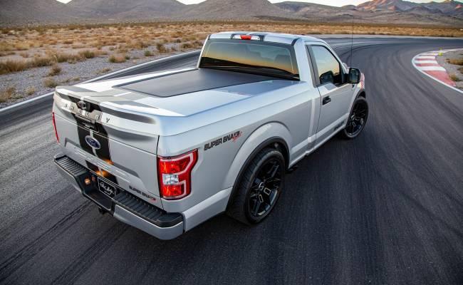 В Америке начнут выпускать 770-сильный пикап Shelby F-150 Super Snake Sport