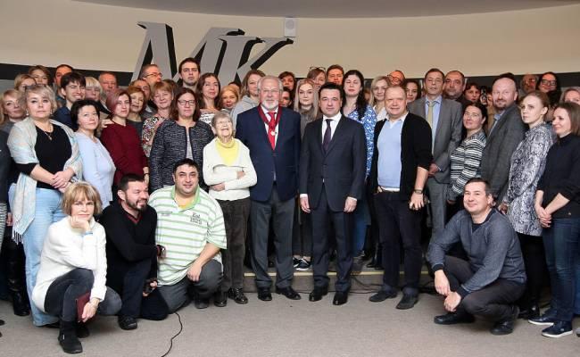 Андрей Воробьев поздравил «МК» с юбилеем