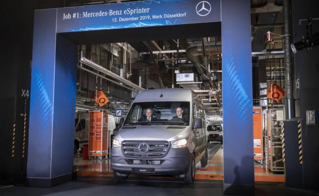 Mercedes-Benz Vans приступил к производству электрических Спринтеров