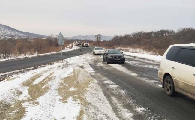 На трассе Владивосток — Находка в Смоляниново открыли новый мосту через реку Лобога
