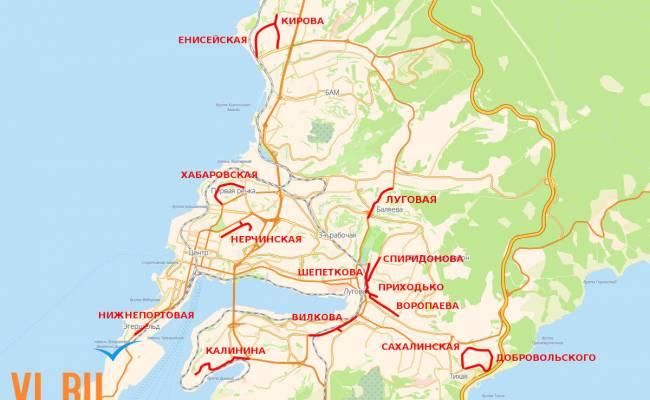Жителям Владивостока предлагают пройти комплексный опрос о качестве ремонта дорог