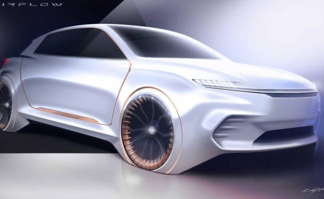 Chrysler представит концепт Airflow Vision на CES 2020