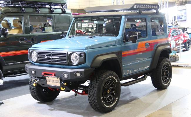 Suzuki Jimny получил несколько новых тюнинговых версий