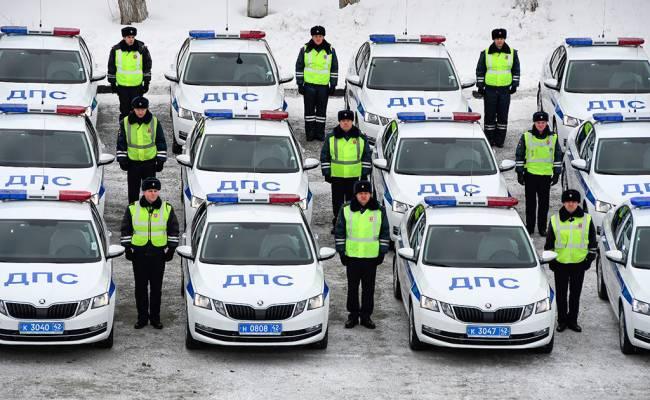 Дорожные полицейские Кузбасса получили 97 новых патрульных машин